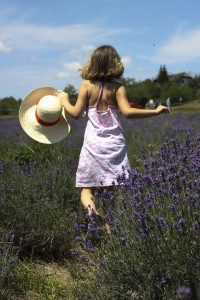 cystitis 2 little-girl- with lavender