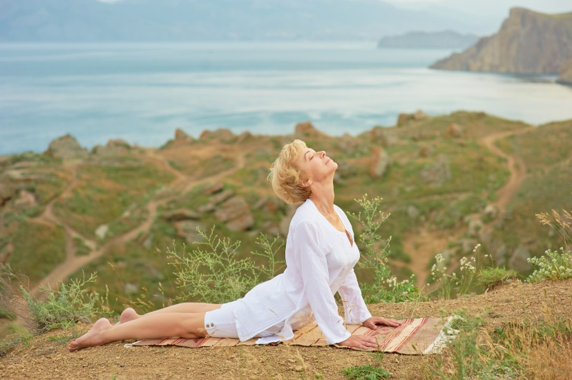 hot flushes night sweats mood swings yoga